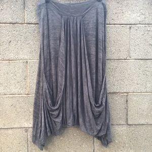 Ronen Chen Women Or Juniors Skirt Size 3 Grey